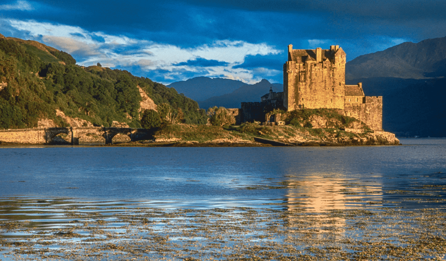 Ancient Majestic Castles In Scotland