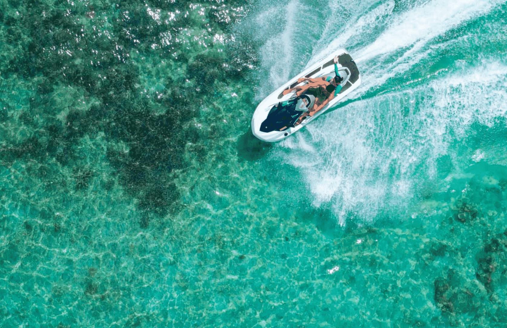 Water Sports in $100,000 Per Night Resort