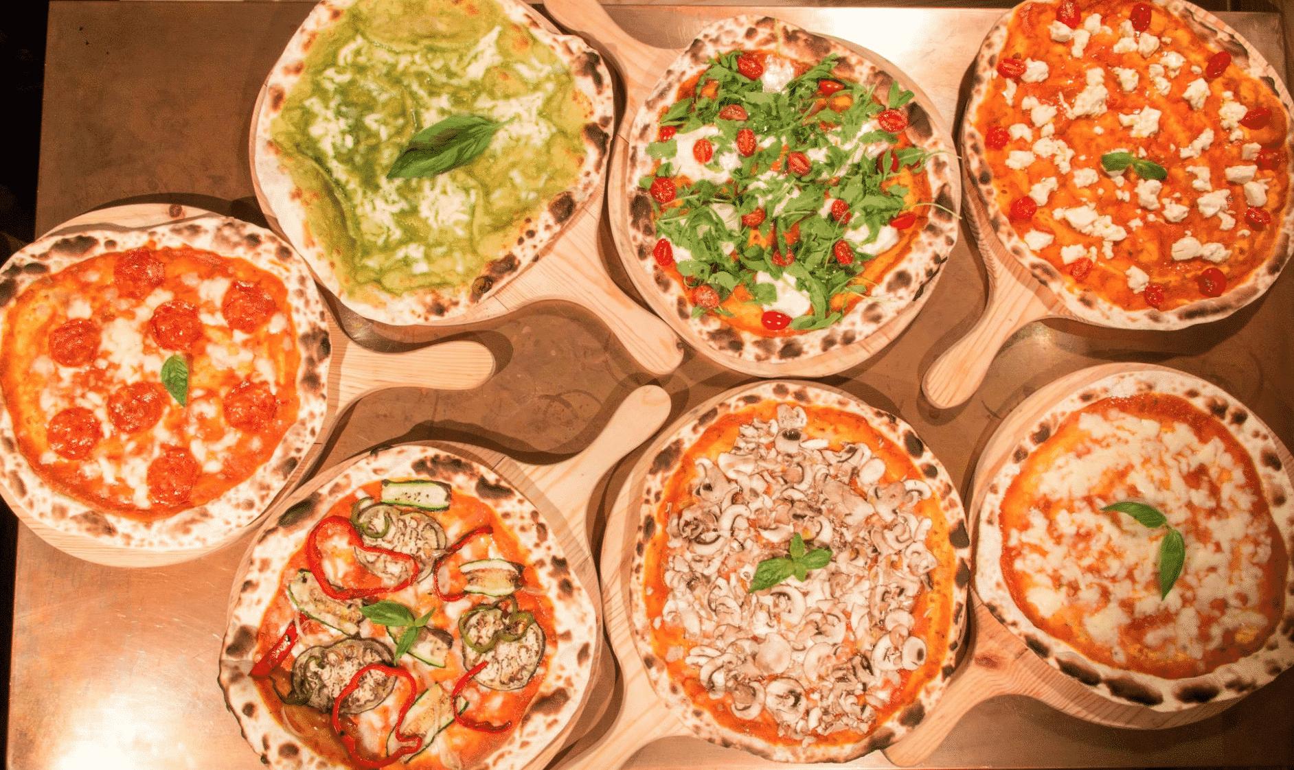 In Bocca Al Lupo Pizzas