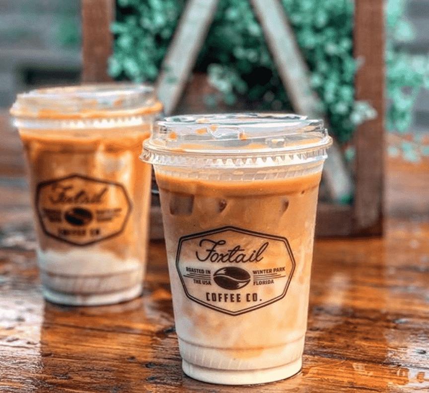 Foxtail Coffee Bar in Orlando
