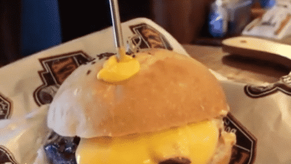 Inject Into Your Melted Cheese Burger
