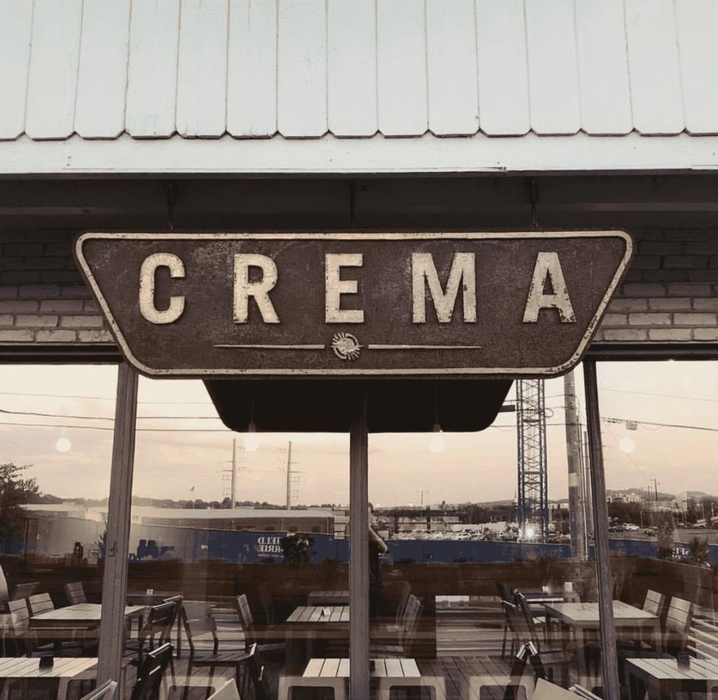 CREMA cafe in Nashville