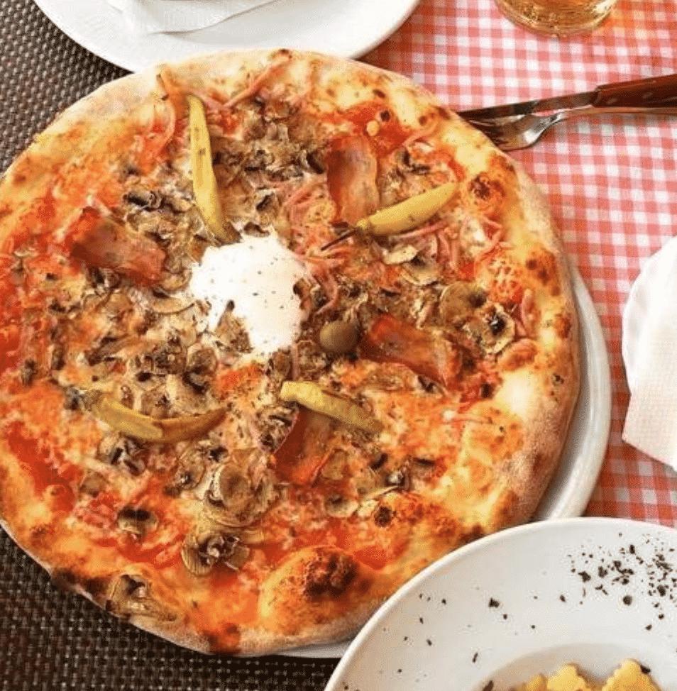 Capuciner Pizzeria in Zagreb