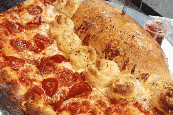 Daily Drool #9: The Garlic Knot Pizza Calzone Combo