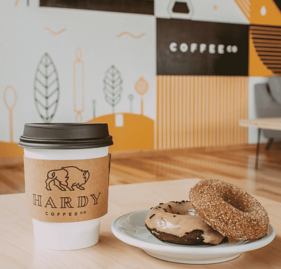 Hardy Coffee Co in Omaha
