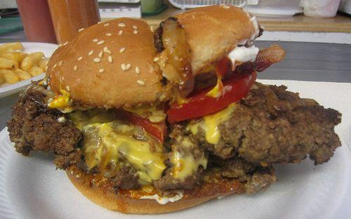 Ann's Snack Bar Hamburger in Atlanta