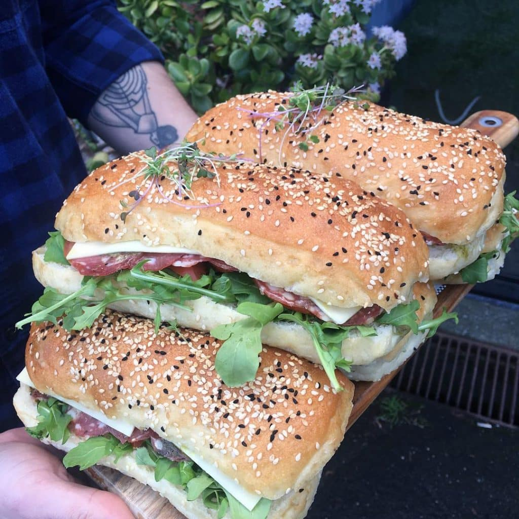 Bear & Bean Sandwiches