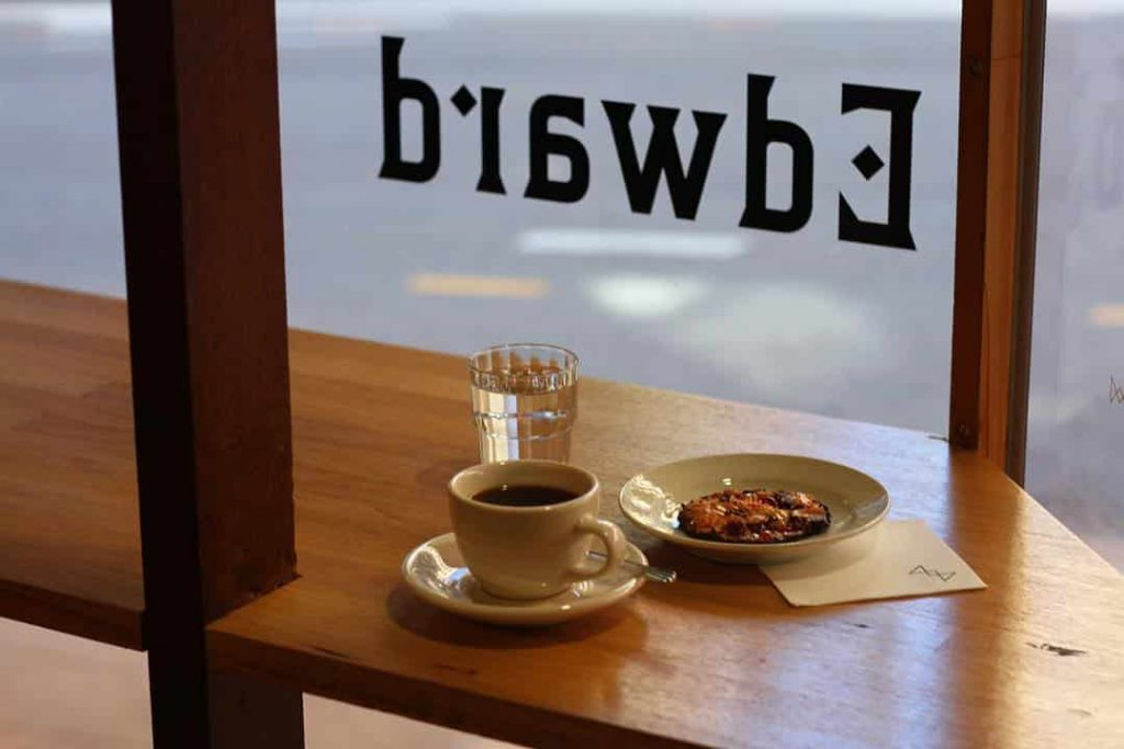 Edward Specialty Coffee in Brisbane
