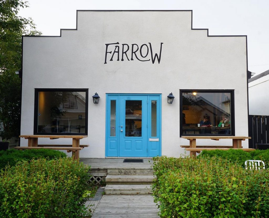 Farrow  cafe in Edmonton