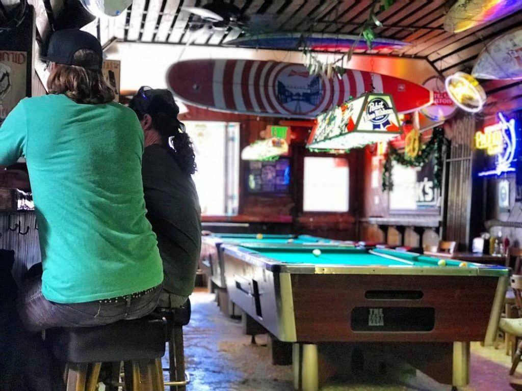 Hinano Cafe Dive Bar in California