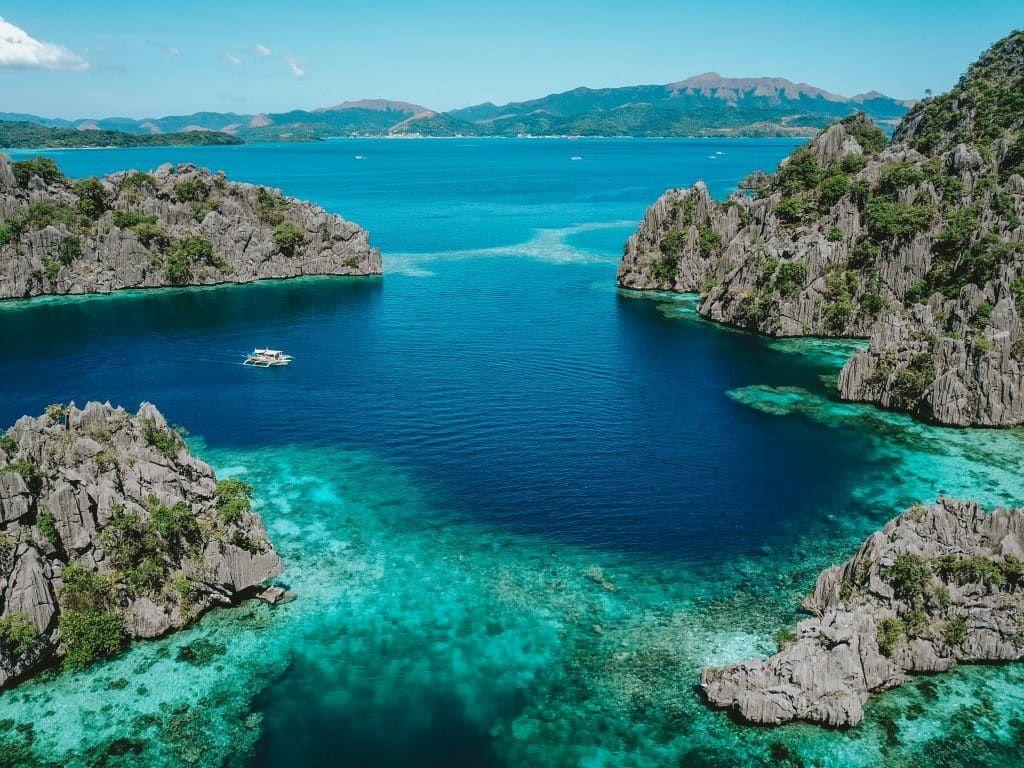 Majestic Lagoons in Palawan