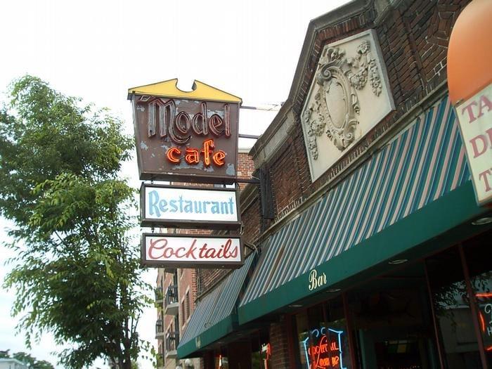 Model Cafe Bar in Boston