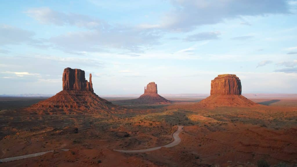 Monument Valley Trails in USA