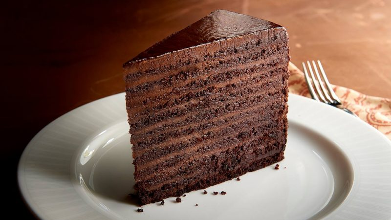 24-Layer Chocolate Cake In New York's