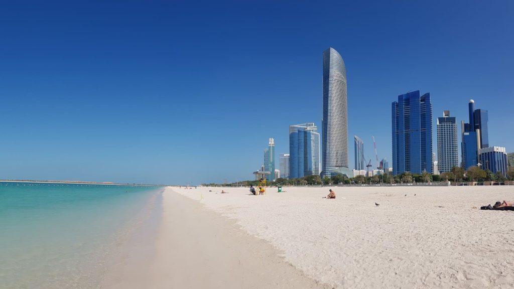 Abu Dhabi Corniche Beaches