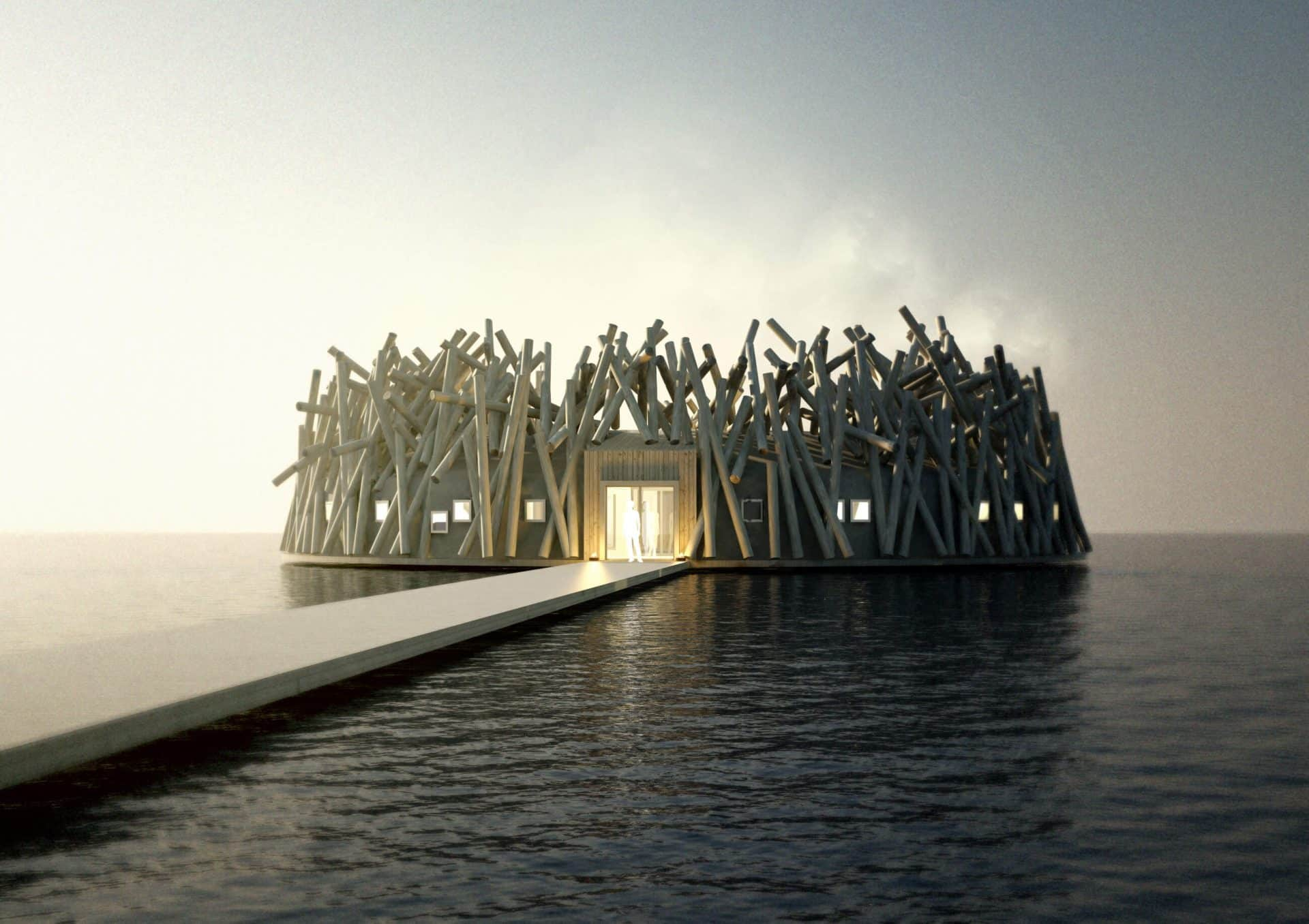 New Floating Hotel In Sweden