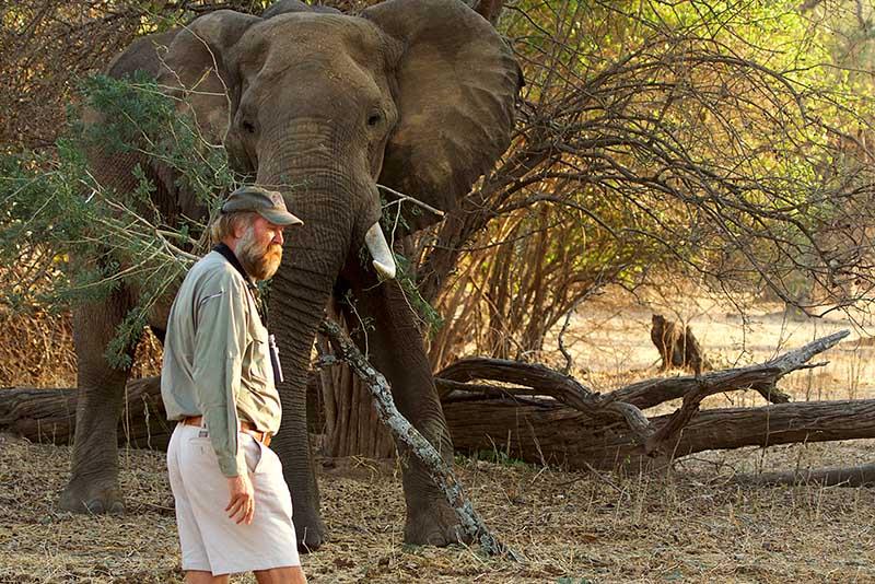 Stretch Ferreira Safaris in Africa