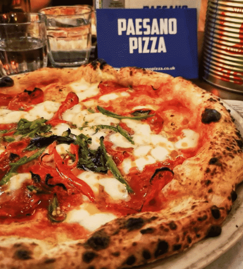 Paesano Pizza In Glasgow