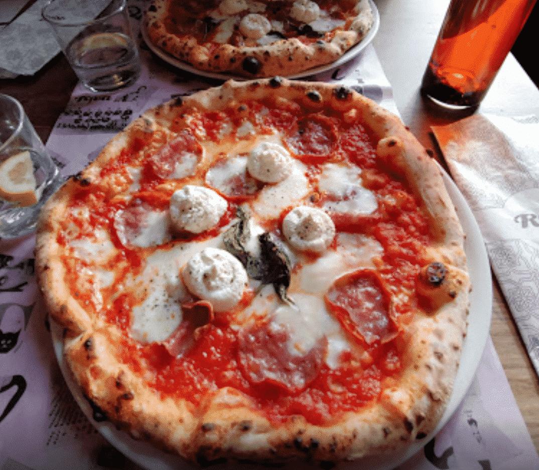 Riva Pizza Türkenstraße In Vienna