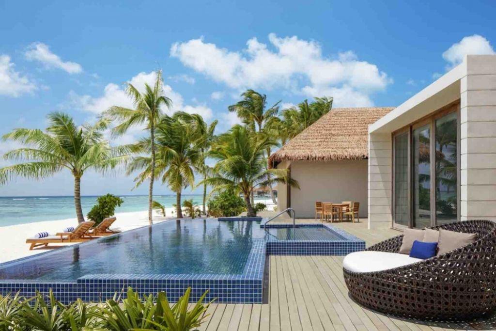 Overwater Villa in Waldorf Astoria Maldives