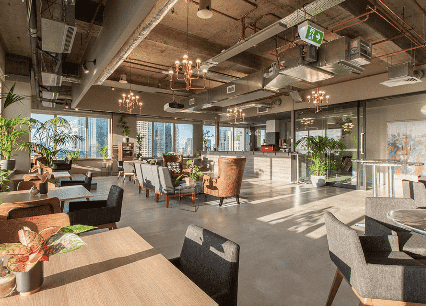 First co-working Penthouse Melbourne