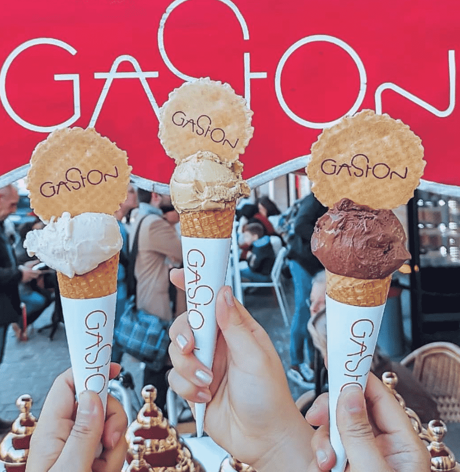 Gaston Ice Cream in Europe