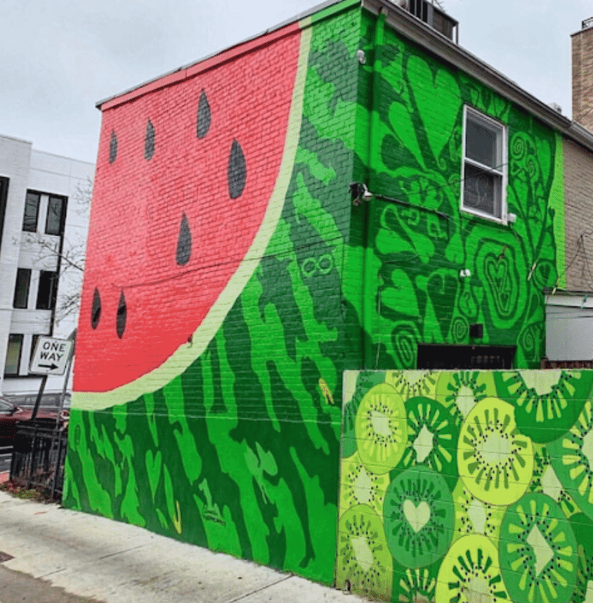 The Watermelon House in Washington DC