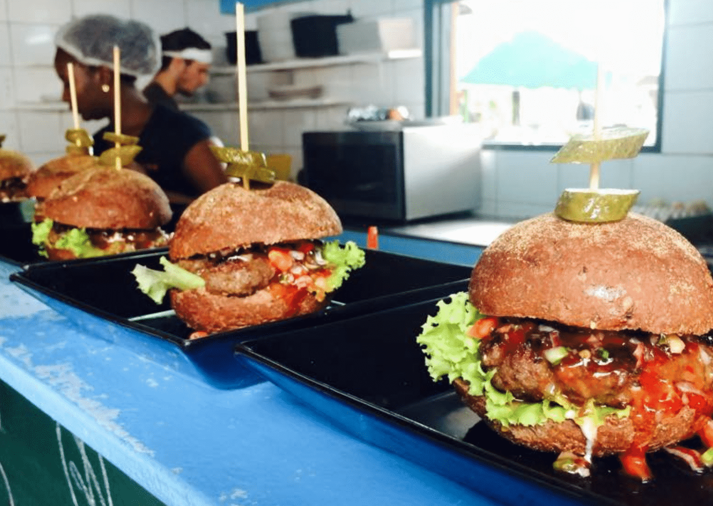Zus & Zo Hamburger