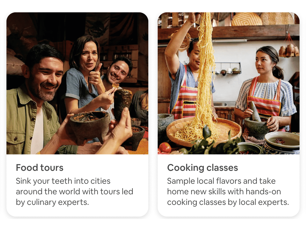 Airbnb Experiences Apps