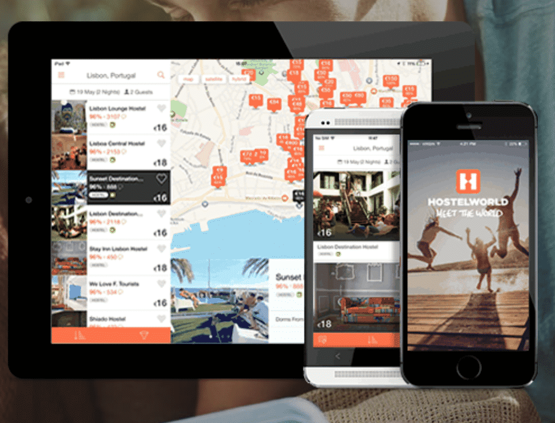 Hostelworld Apps