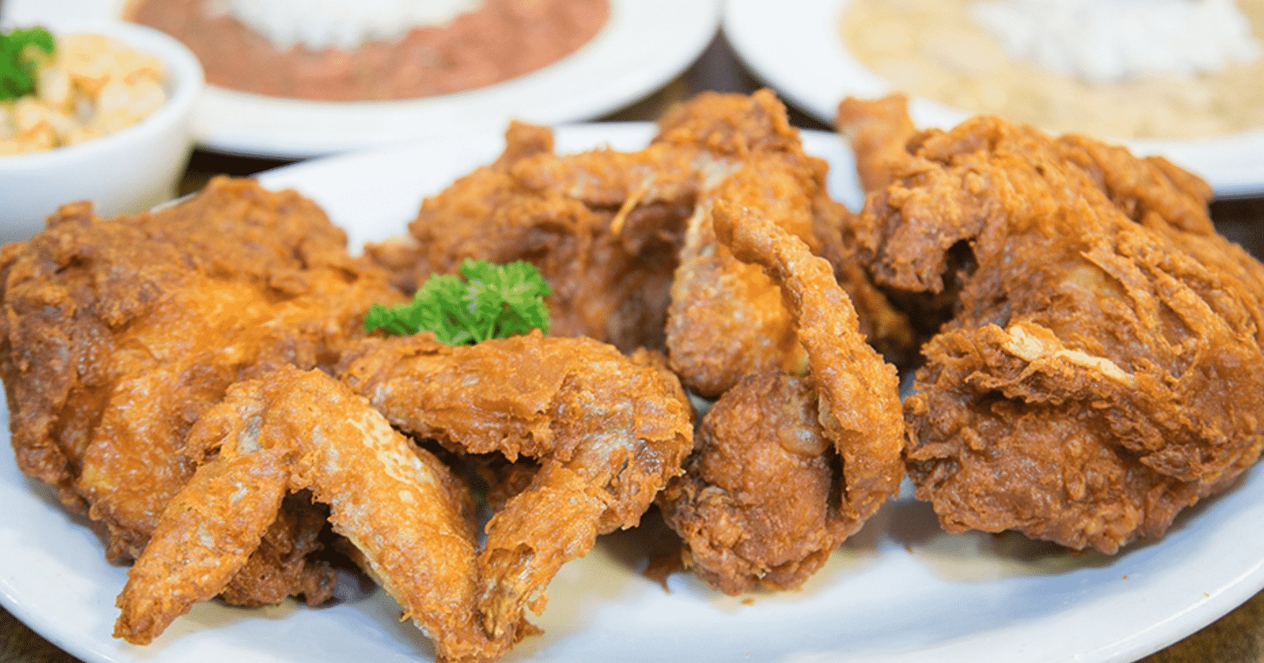 Famous fried chicken in America
