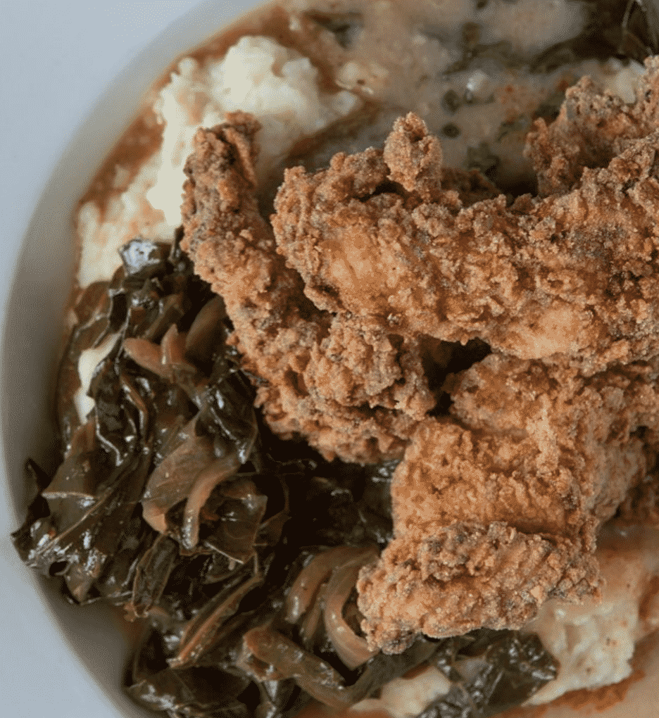 Boneless buttermilk-brined fried chicken