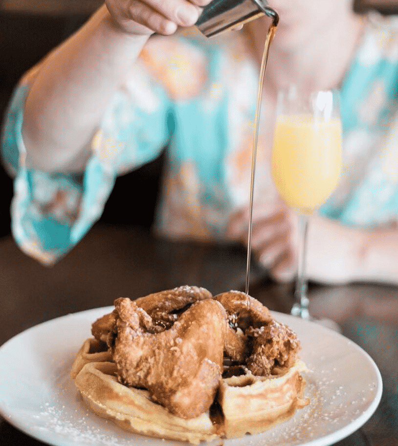 Fried Chicken and Champagne in America