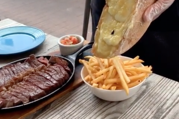 Daily Drool #20: Steak With Cheesy Raclette Fries