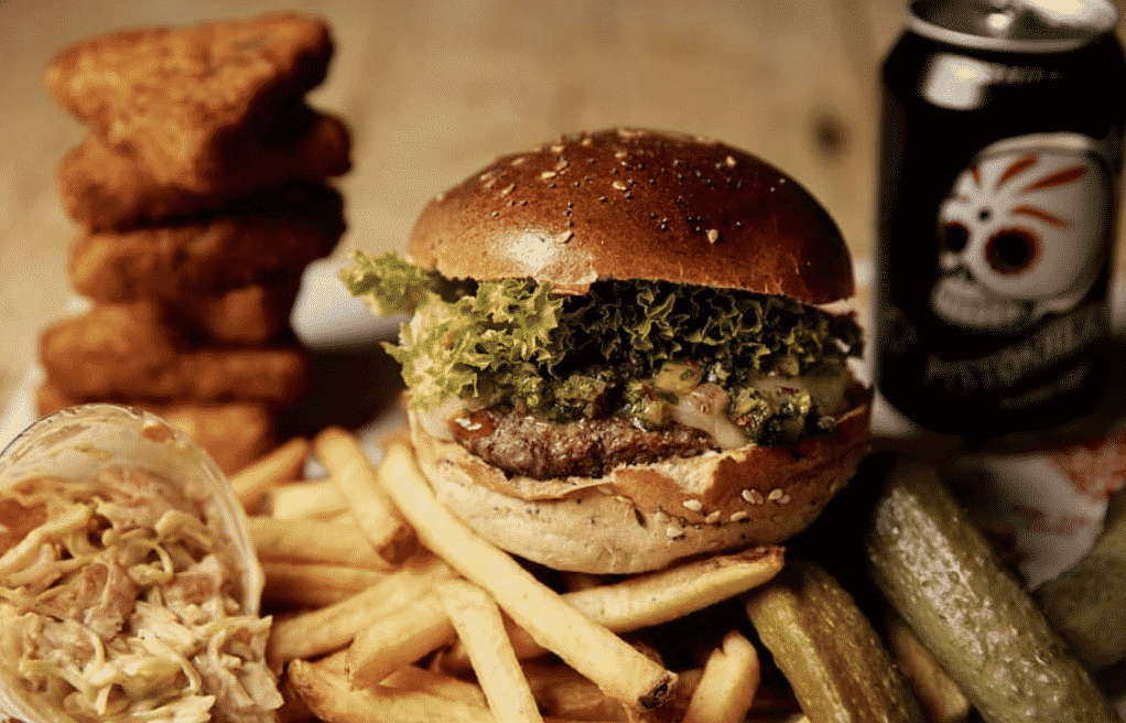 The Grazing Shed burger