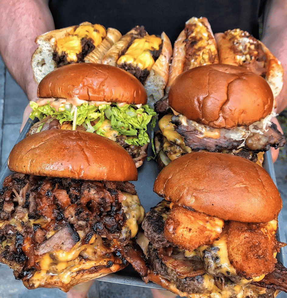Nottingham burgers