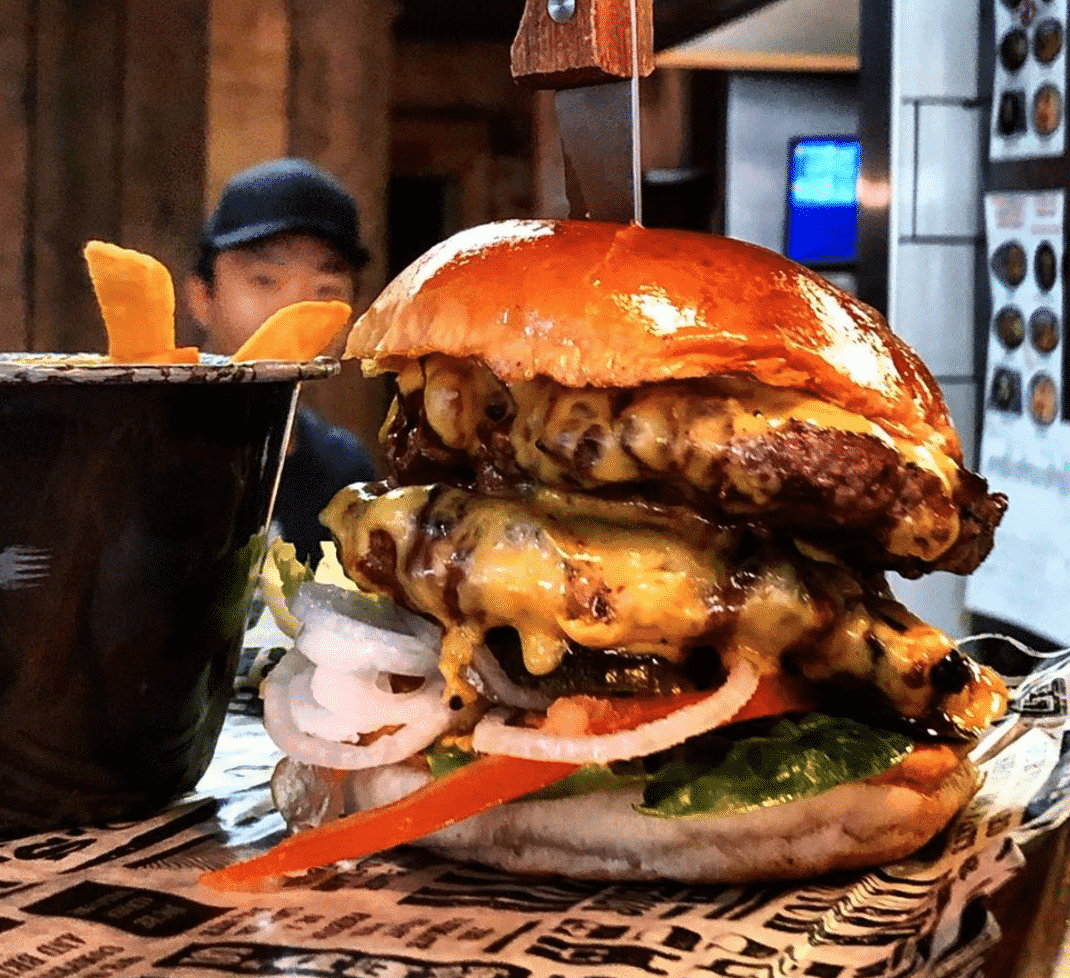 Red's True Barbecue Burger In Nottingham