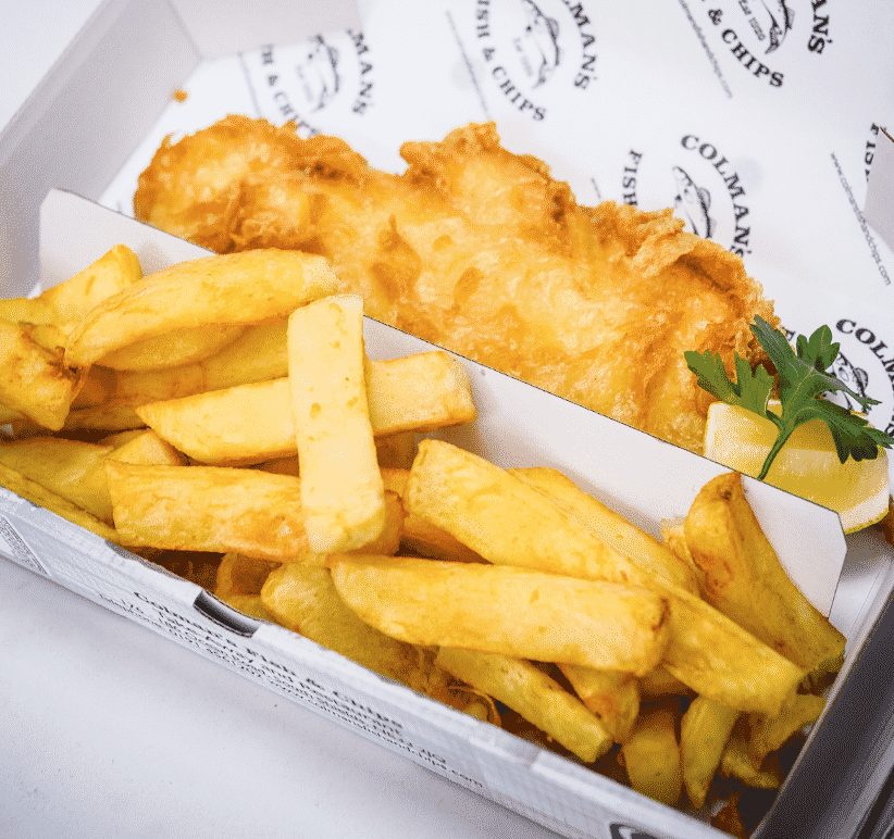 Tyne and Wear Chips in England