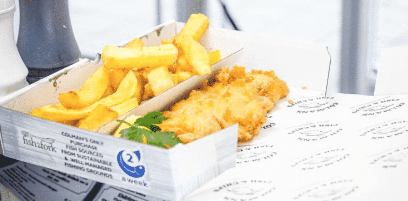 Black's Chippy in England