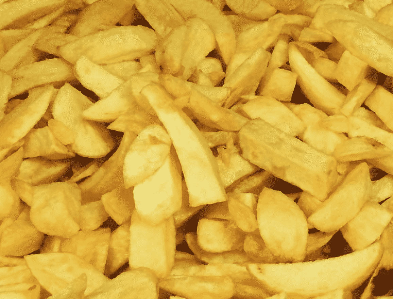 Harlees chips in England