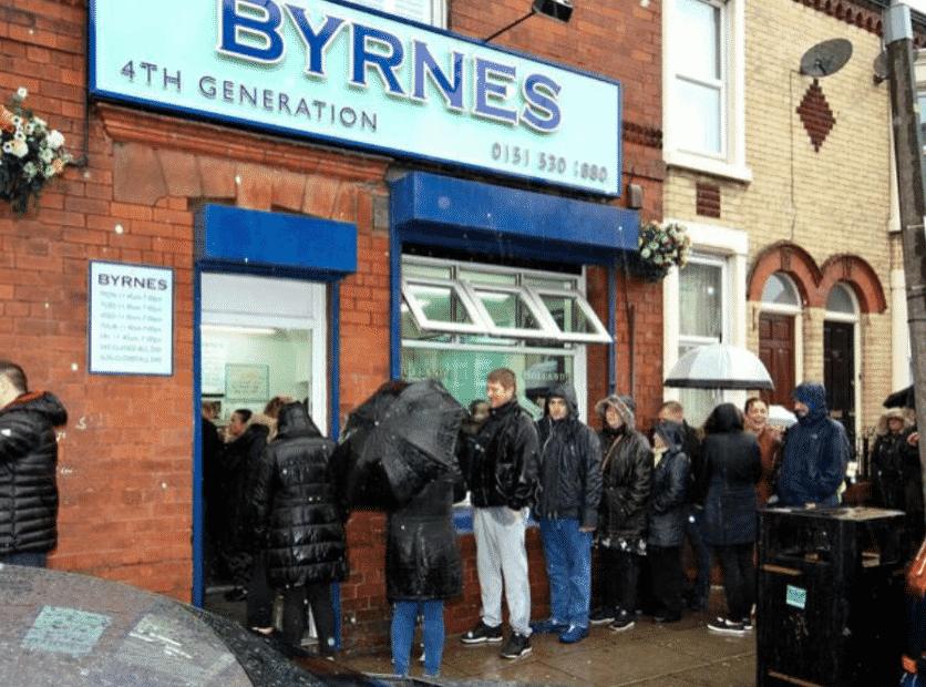 Byrnes in England