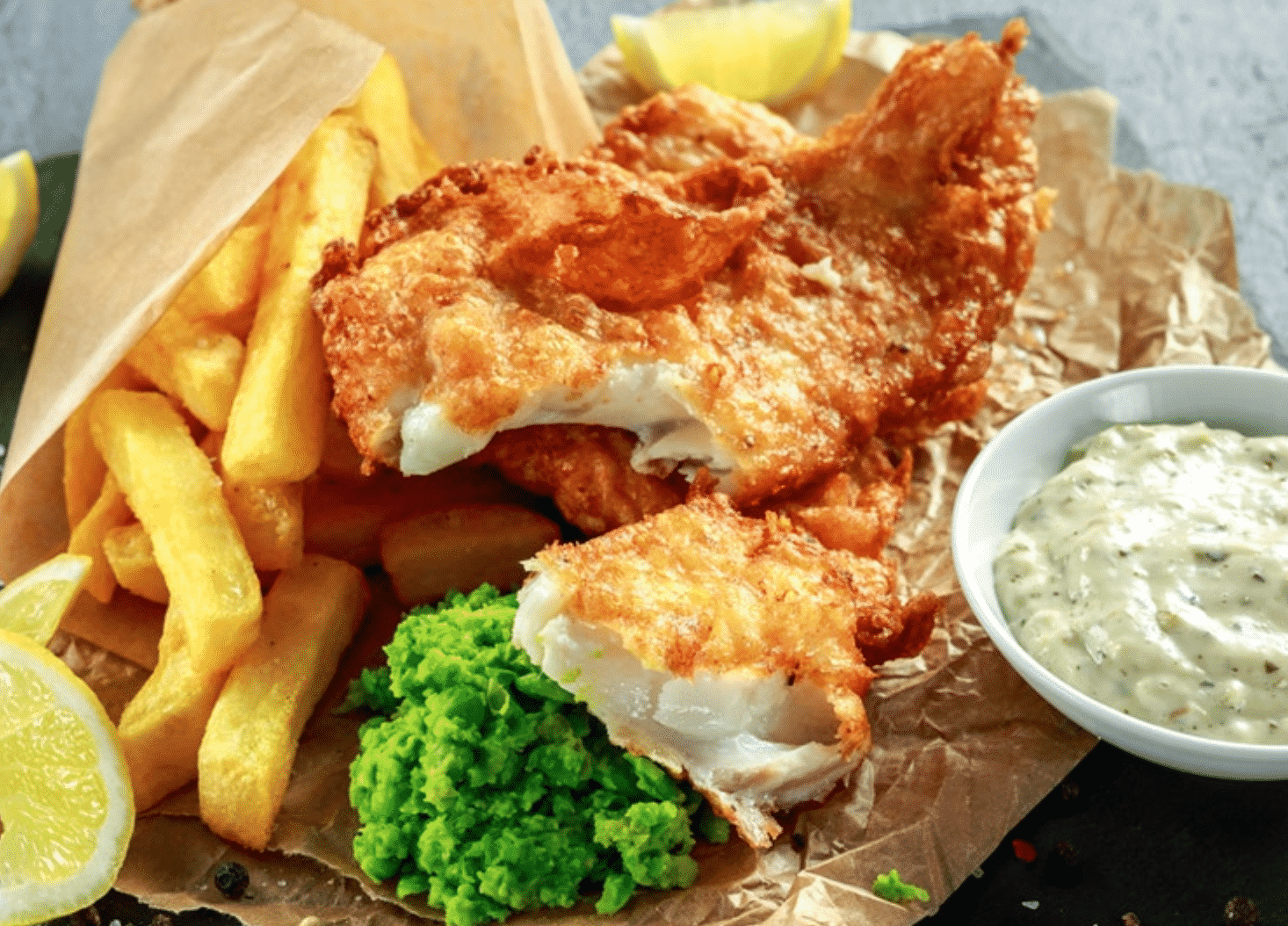 Buck's Chippy in England