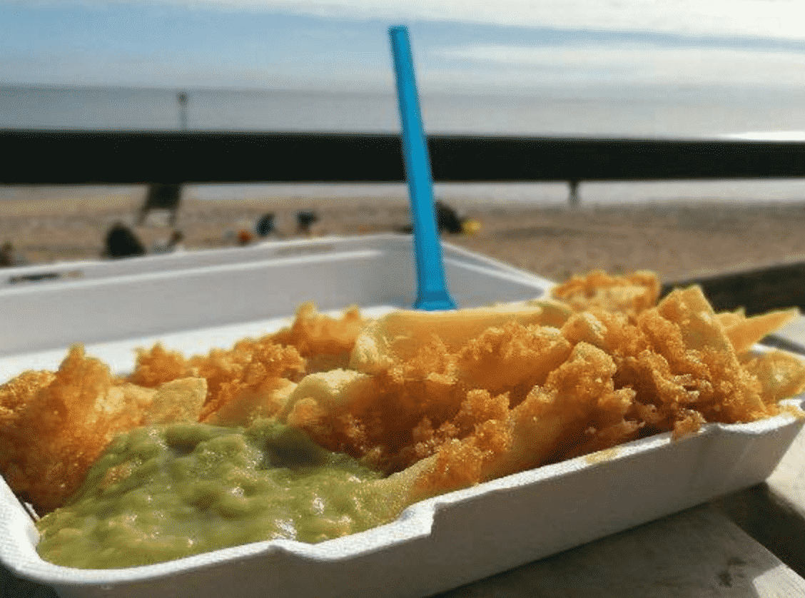 North Beach Fish and Chips in England