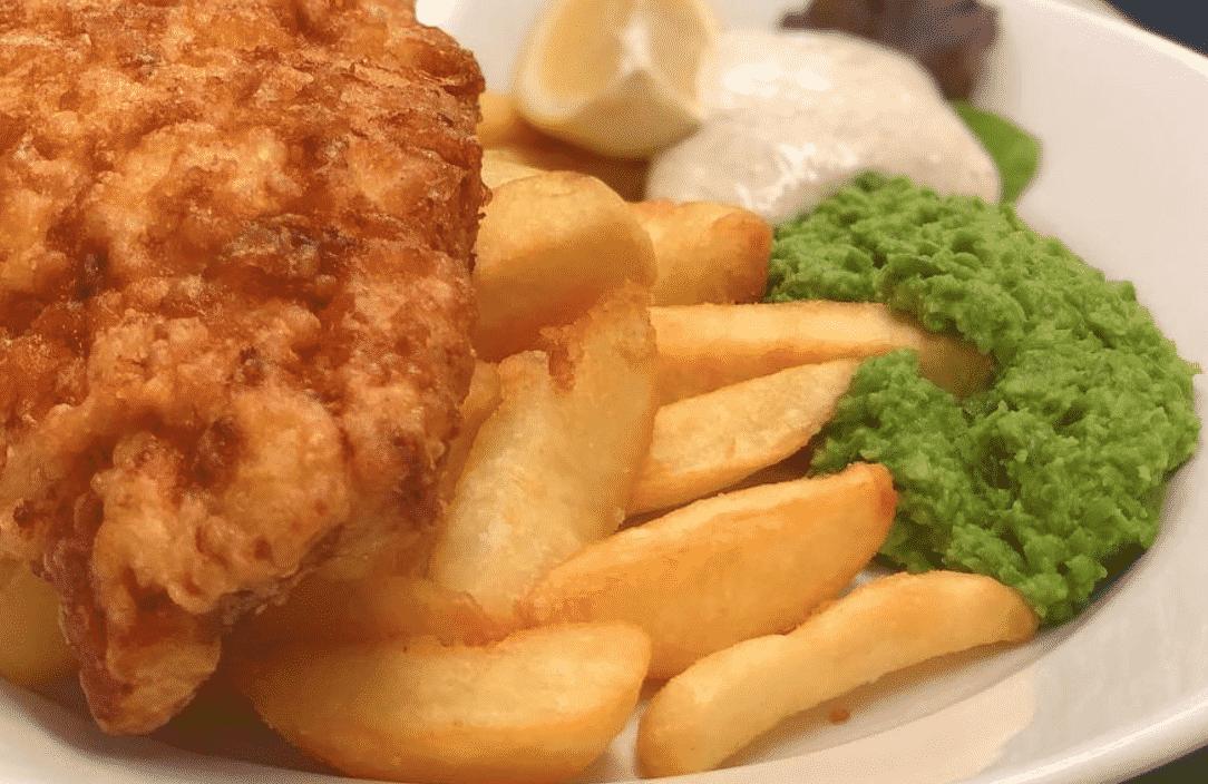 Golden chips in England