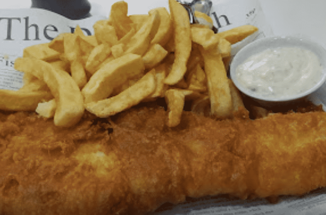 Burnham Fish & Chips in England