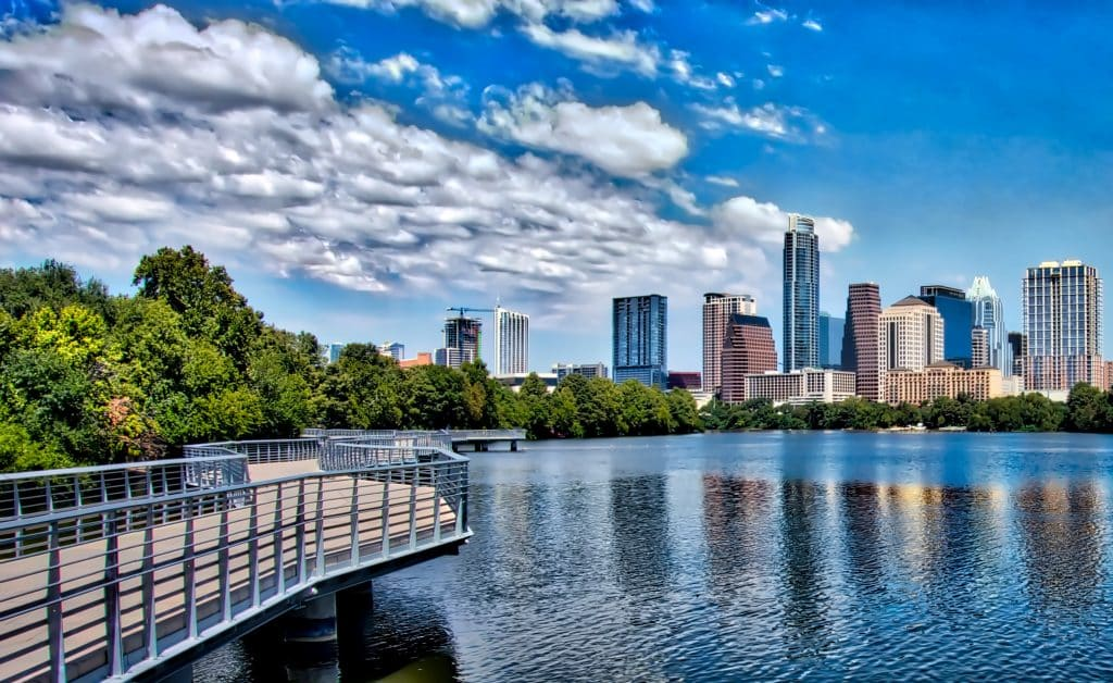 Hike around Lady Bird Lake in Austin
