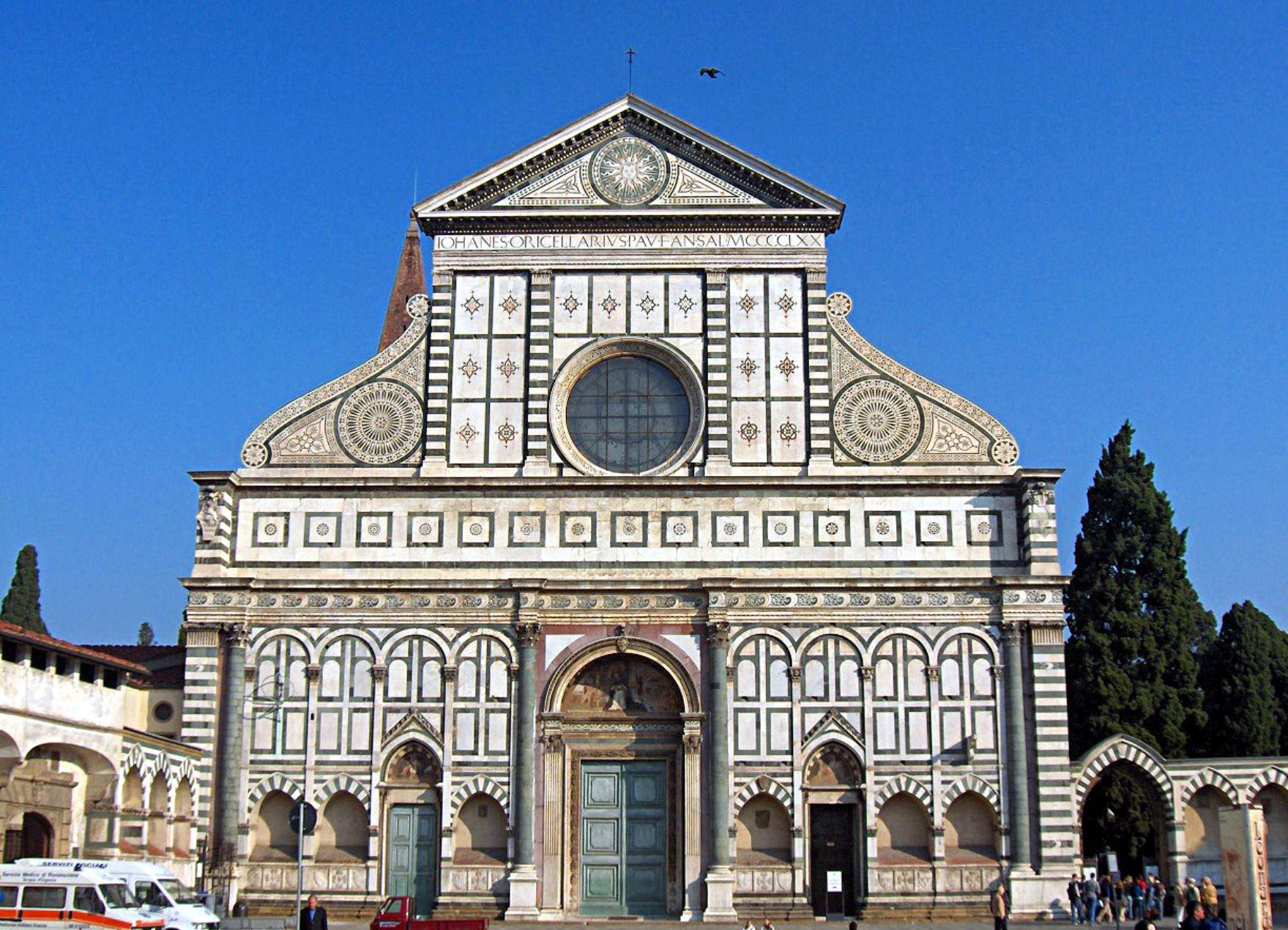 Basilica Santa Maria Novella Florence