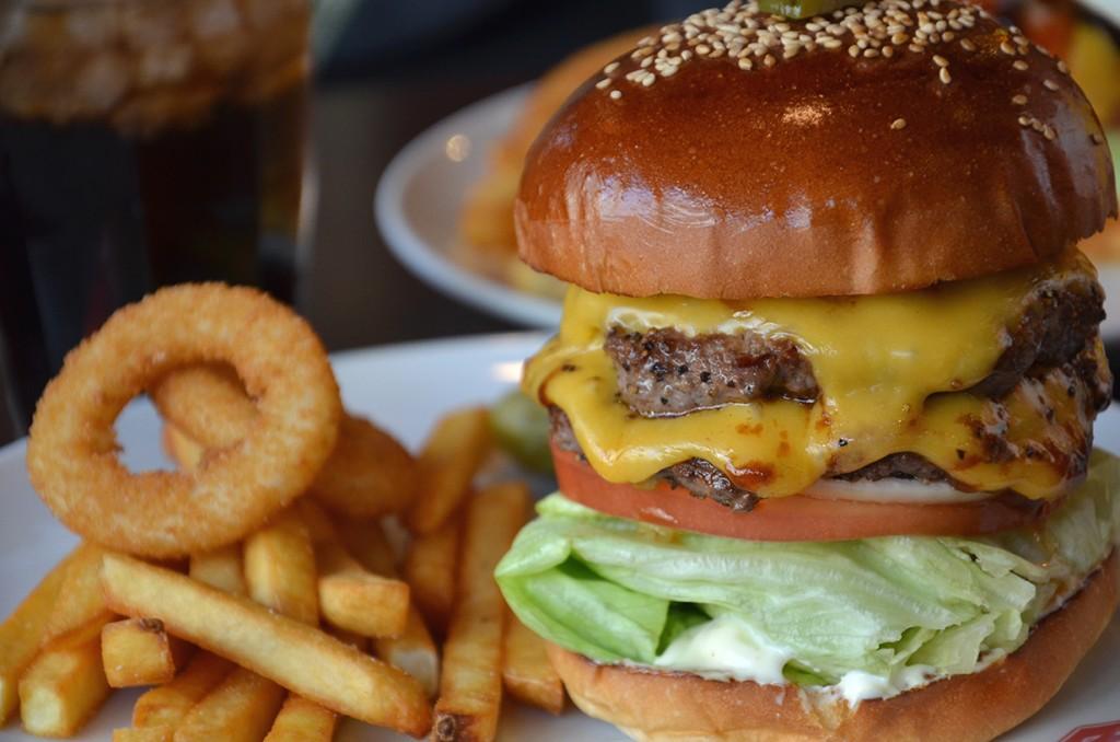 Brozer's Hamburger in Tokyo