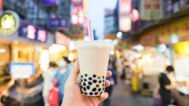 bubble tea theme park