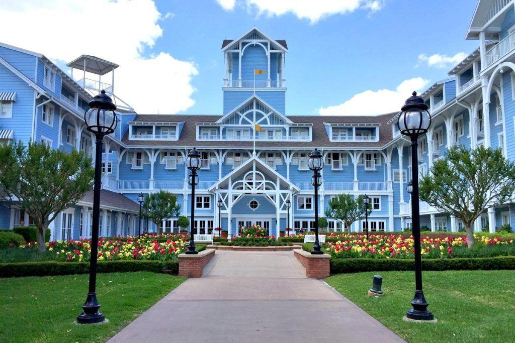 New England-style Resort in Disney Park